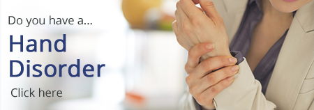 Do you have a hand disorder? Click here